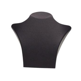 Papp-Büste 195x180 mm schwarz