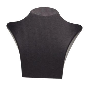 Papp-Büste 255x235 mm schwarz