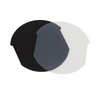Armreifplättchen 105 mm Ø, PVC Folie