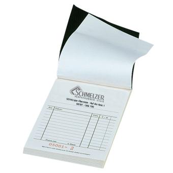 Kassenblocks 100x150 mm mit Firmendruck