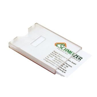 Visitenkartenboxen 85x55x5 mm