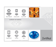 Zertifikat 210x148 mm