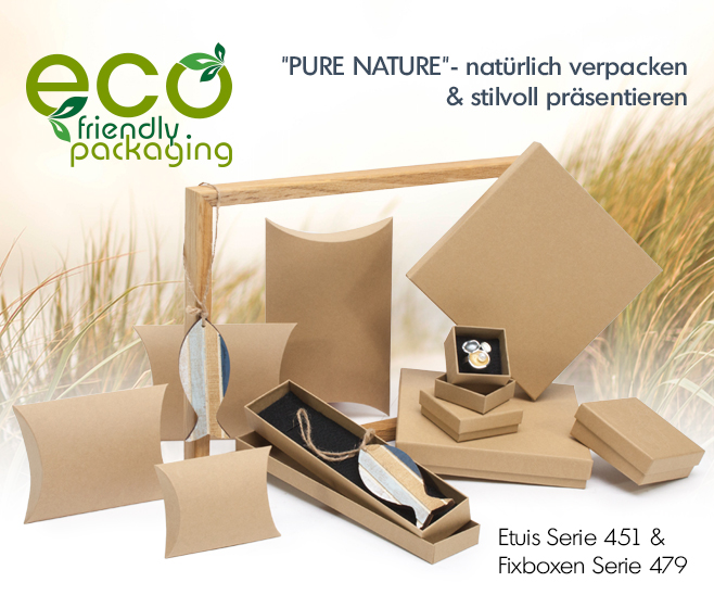 """""""PURE NATURE""""- natürlich verpacken & stilvoll präsentieren"""